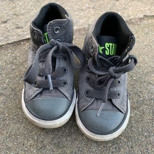 All Star Converse Toddler Gray Booties size 6